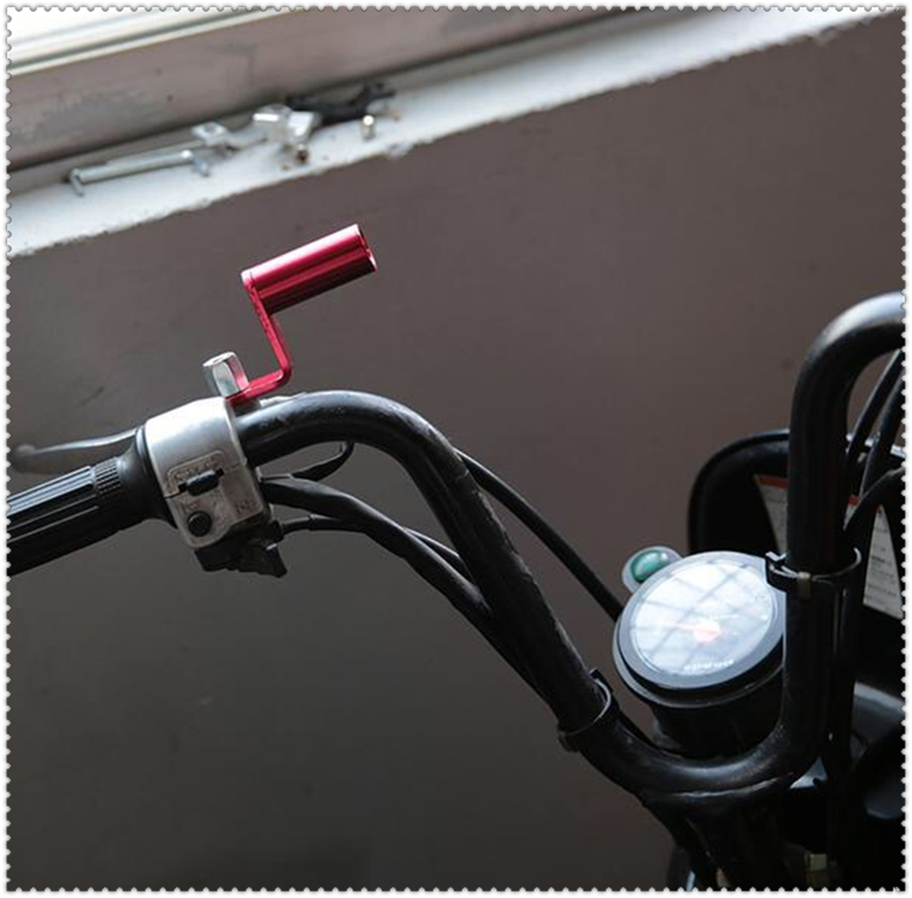 Motorcycle <font><b>accessories</b></font> rearview mirror bracket extender clamp lever for <font><b>YAMAHA</b></font> YZF 600R Thundercat R1 R6 R25 R3 FZ1 FAZER <font><b>FZS</b></font> image