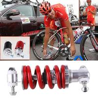 자전거 스프링 충격 흡수기 접이식 자전거 산악 자전거 자전거 블랙/레드|뒷좌석 샥|스포츠 & 엔터테인먼트 -