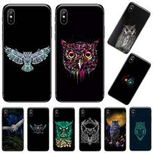 Hot Leuke Uil Custom Photo Soft Telefoon Case Voor Iphone 5 5 5s 5c Se 6 6 S 7 8 Plus X Xs Xr 11 Pro Max Coque Shell(China)