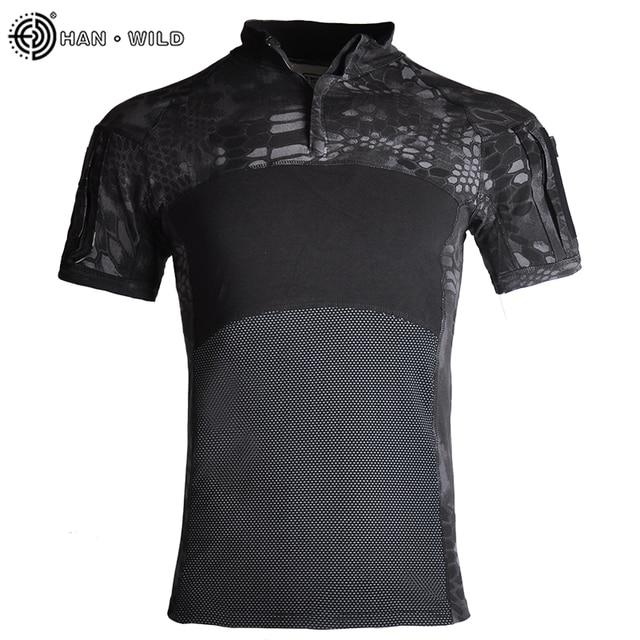 Купить военная армейская футболка мужская камуфляжная тактическая рубашка картинки