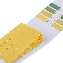 Testeur PH valeur 5.5-9.0 acide alcalin, test de tournesol, 80 bandes, indicateur PH, papier pour eau urinaire Aquarium