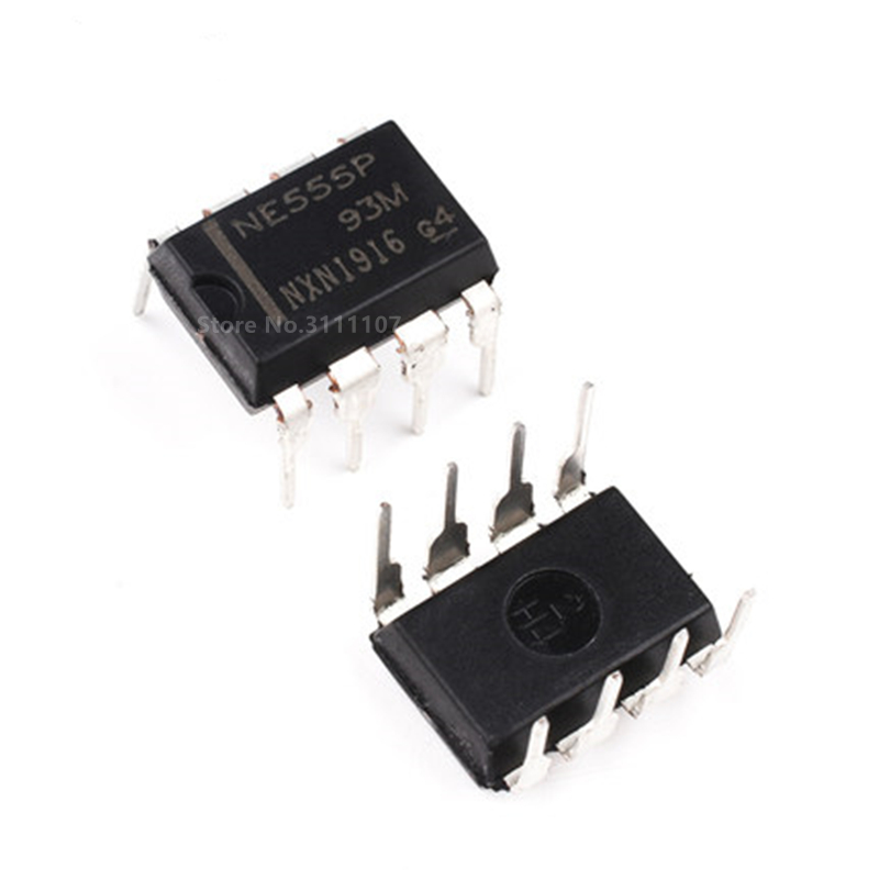 10PCS/LOT NE555 NE555P NE555N ne555 DIP-8 Timing Chip ne555 Wholesale