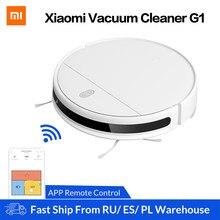 Xiaomi Mi Robot Aspirapolvere G1 per la Casa Intelligente Senza Fili di Spazzamento Pulizia Mop Elettrico NORMA MIJIA Tappeto di Polvere Collettore di Robotica