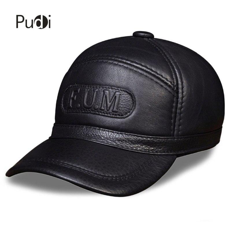 HL062 homme 100% en cuir véritable casquette/gavroche/béret/Cabbie chapeau/chapeaux russe hiver chaud casquettes avec vraie fourrure à l'intérieur