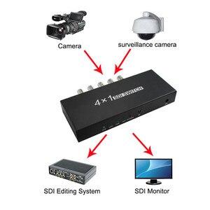 Image 5 - SDI מתג 3G/HD/SDI 4x1 Switcher עם BNC נקבה תמיכה 1080P הפצה Extender עבור מקרן צג מצלמה משלוח חינם