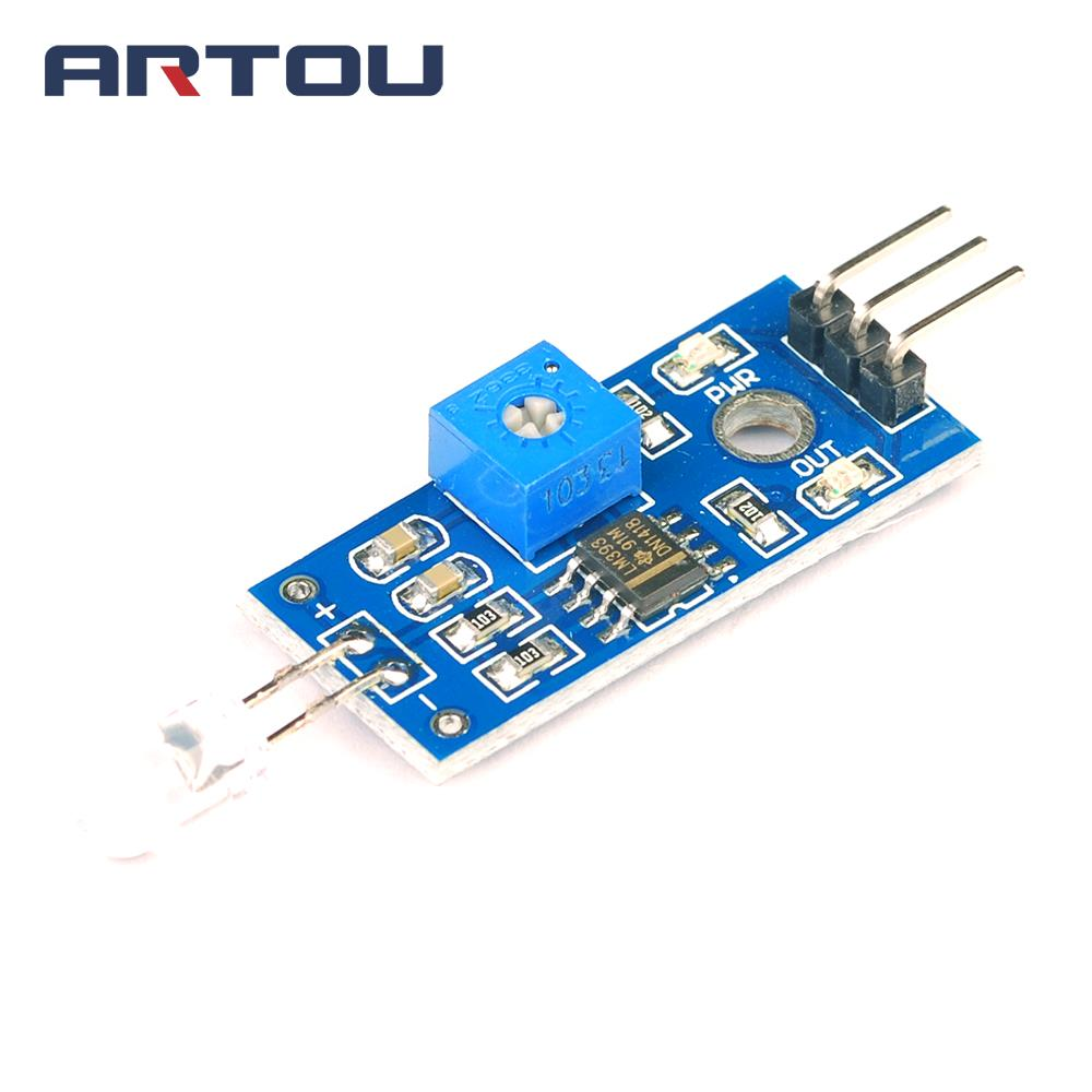 Photodiode module detects brightness light-sensitive light detector Photosensitive module smart car for arduino