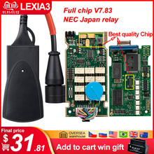 PP2000 Lexia3 Diagbox Diagnostic-Tool OBDII Peugeot Citroen Full-Chip V7.83 with Firmware