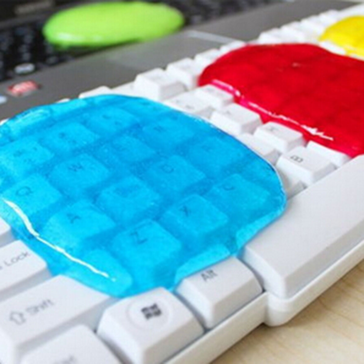 10PCS Magic Dust Cleaner Compound Super Clean Slijmerige Gel Voor Telefoon Laptop Pc Computer Toetsenbord