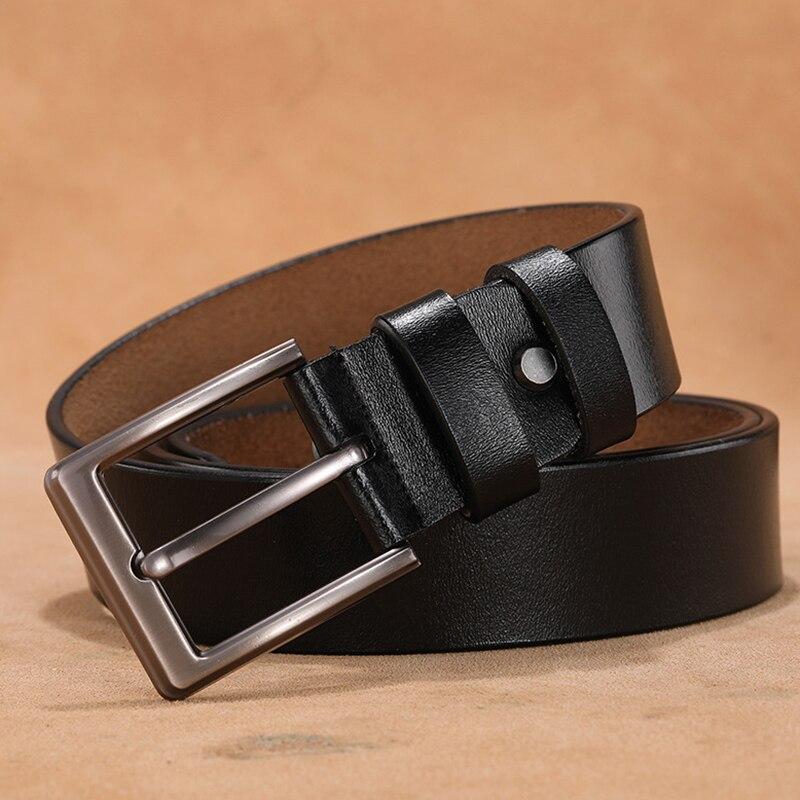 Women Belt Designer Female Belt Genuine Leather Belts For Women High Quality Pin Buckle Belts For Jeans Luxury Brand Women 2020