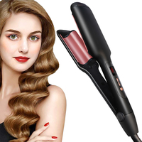 Professional Wave Hair Styler 3 Barrels Big Wave Curling Iron Hair Curlers Crimping Iron Fluffy Waver Salon Styling Tools 1