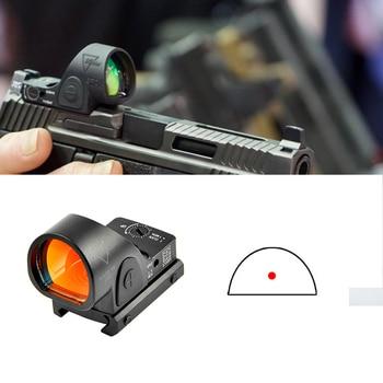 Trijicon Mini RMR SRO punto rojo vista colimador Glock Rifle reflejo mira ajuste 20mm Weaver carril para Airsoft Rifle de caza