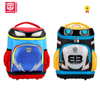Transformers Children's SchoolBag Cartoon Fashion Young Student Backpack  Reduced Polyester Waterproof Schoolbag Canvas Backpack