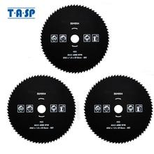 TASP 3 pièces HSS lame de scie circulaire 80T 85x1.8x10mm acier rapide pour le travail du métal accessoires doutils électriques