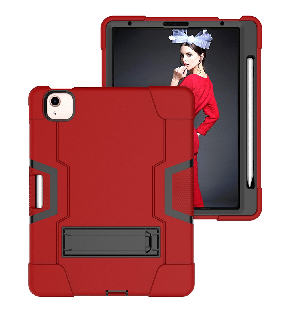 Red - Black Gray For Apple iPad Air 4 4th Gen 10 9 inch 2020 A2324 A2072 Case Shockproof Kids