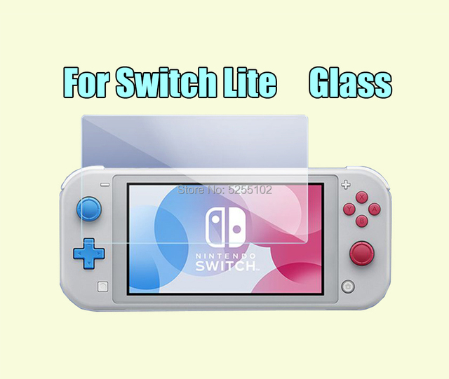 1set 9 H Tempered glass scree Glass Screen Protector For Nintendo Switch NS Screen Protector For Nintend Switch Lite Accessories