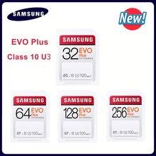 Samsung-tarjeta SD de memoria de 32g, videocámara digital de alta velocidad, SDHC class10, 64GB, 100 MB/S, UHS-I, 4K y FHD, cámara de vídeo SDXC