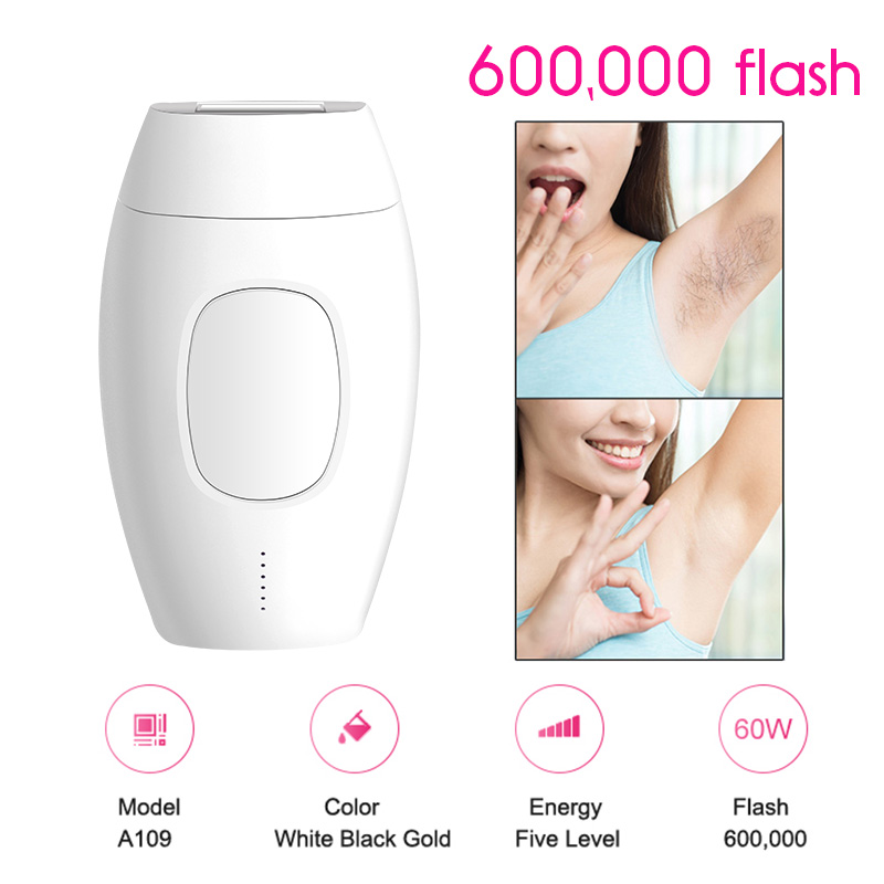 Mini Handheld IPL Laser Epilator Portable Depilator Machine Full Body Facial Permanent Painless Laser Hair Remover Device