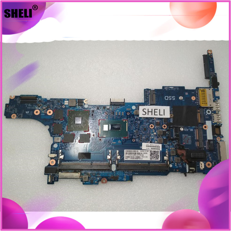 SHELI 730809-601 730809-001 6050A2559101 For HP 850 G1 840 G1 Motherboard with <font><b>I7</b></font>-<font><b>4600U</b></font> image