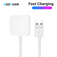 2 in 1 Wireless Charger for Apple Watch Series 1 2 3 4 USB Magnetic Charging Cable 3.3 feet/1meter for iPhone X XR XS 8 8 Plus