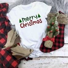Plaid Merry Christmas T Shirt PU27