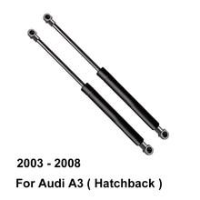 Klapa tylna sprężyna gazowa zawieszenia podnoszenie cylindra wsparcie 8P3827552A dla Audi A3 Hatchback 8P ( 2003 do 2008) (zestaw 2 sztuk)