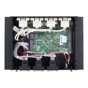 Image 5 - Sem ventilador intel core i5 4200u mini pc 6 * rs232/422/485 4 * usb 3.0 4 * usb2.0 2 * lan hdmi vga wifi 4g lte industrial incorporado computador