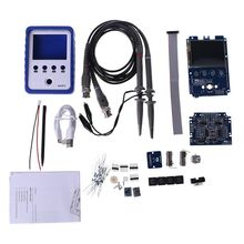 2 Channel Oscilloscope DDS Function Generator DIY Kit TouchScreen Portable WAVE2