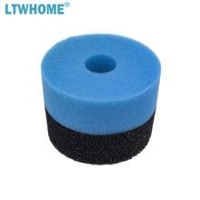 LTWHOME الأسود والأزرق إسفنجة مرشحة يصلح لجيباو CF 10 ، PF 10 وبرمودا 4000 مرشح الضغطsponge filtersponge spongejebao 4000