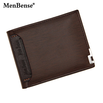 Menbense Men PU Leather Wallet Vintage Coin Purse Credit Card Holder Functional Wallets Small Short Bifold Clutch Bag For Gifts fullmetal alchemist edward elric anime wallet pu leather khaki color short bifold purse card holder of button money bag