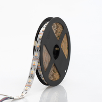 New Arrivals RGB+CCT LED Strip 5050 96 led/Meter 24V/5 in 1 Chips CW+RGB+WW Flexible Dual White Light adjustable RGB Led Stripe