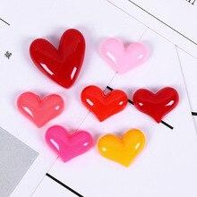 20pcs Resin Love Accessories Epoxy Cream Mobile Pho