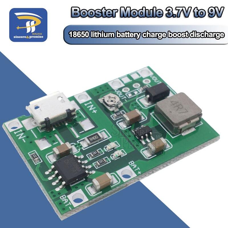 Плата зарядного устройства для литий-ионного аккумулятора 18650 3,7 в 4,2 в, Регулируемый реверсивный модуль TP4056, детали для набора «сделай сам»
