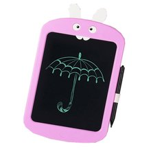 LCD Writing Tablet Cartoon Rabbit e-Writer Drawing Memo Message Boogie Board 8.5 Inch For Childeren Writing Gift