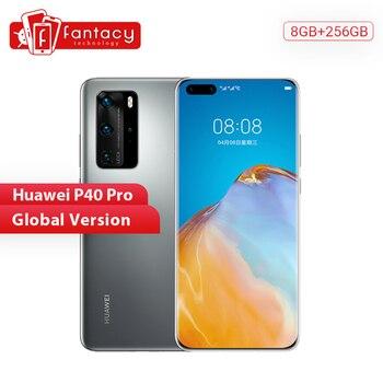 Купить Глобальная версия Huawei P40 Pro 5G 8 Гб 256 ГБ Kirin 990 смартфон 50MP Quad Camera 6,58 ''90 Гц экран 40 Вт SuperCharge