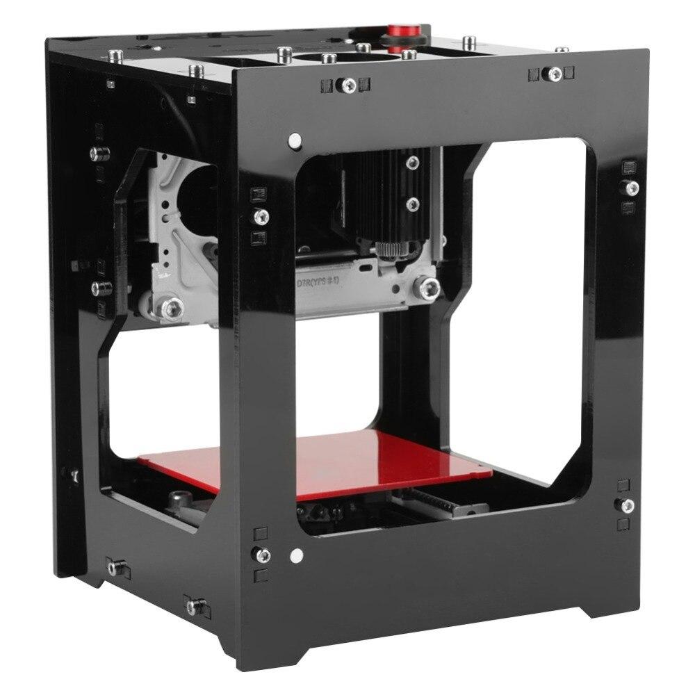 DK-BL Laser Engraver Machine 1500mW 550 * 550 Pixel USB Bluetooth Engraving Image Printer Tool