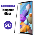 Закаленное защитное стекло 9D для Samsung A70 70S, полное покрытие, Защита экрана для Samsung A10, 10e, 20, 20e, 30, 30S, 40, 50, 50S