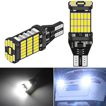 2pcs Canbus Error Free T15 W16W LED Bulbs Car Backup Reverse Light for BMW E60 E90 E91 Ford Fiesta Fusion Focus Mazda 3 5 6 CX-5 image