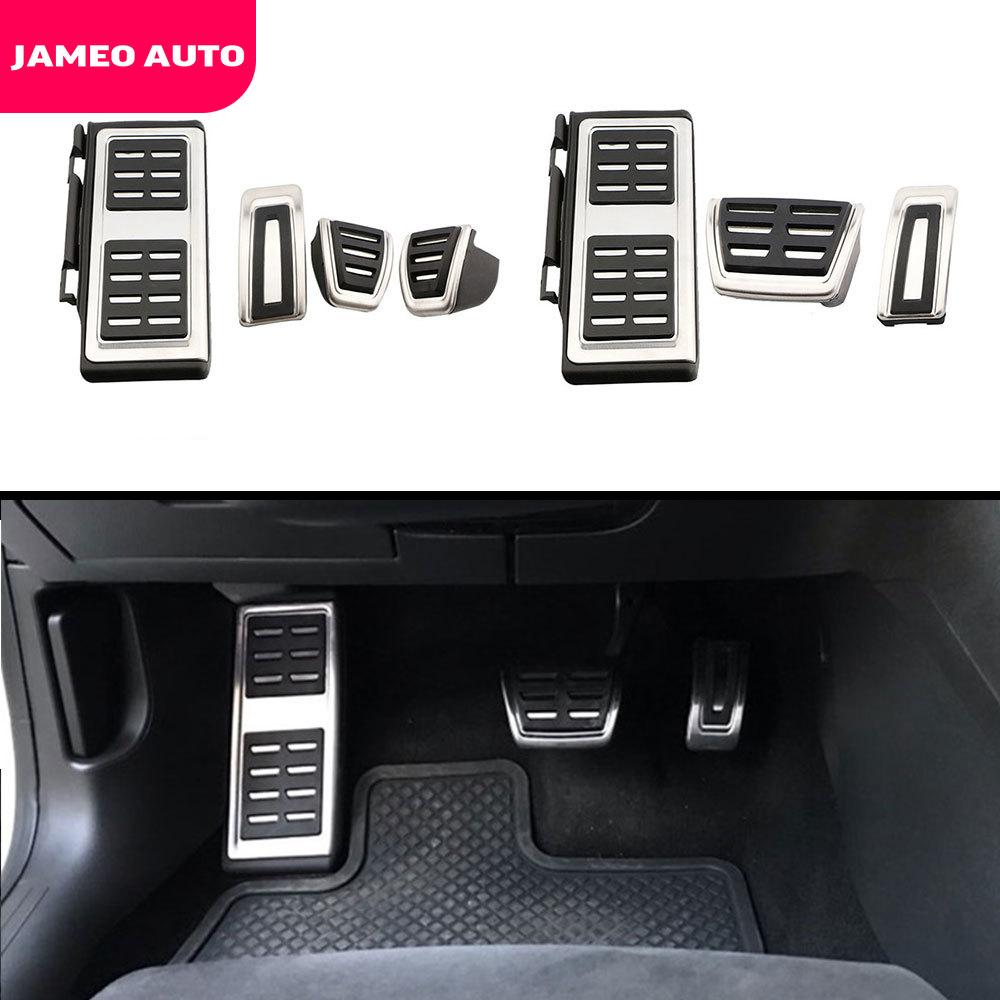 Jameo, автомобильный спортивный чехол для топливной педали тормоза, педали для Vw Volkswagen New Jetta MK7 7th Gen 2019 2020 LHD, аксессуары