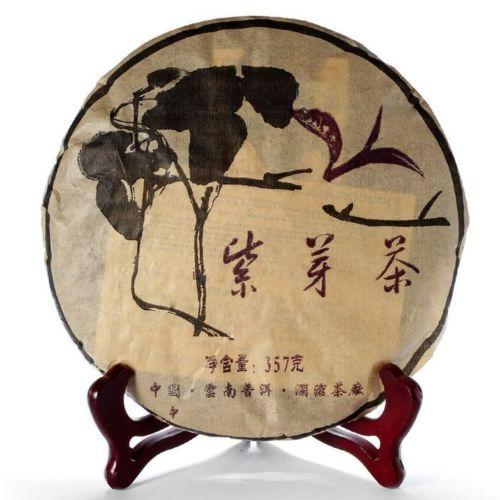 357g 2005 Year Pu-erh Purple Buds Wild Jingmai Mount Shen Old Special Wild Sheng Tea