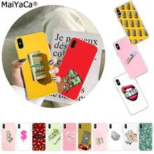 Maiyaca Kartun Uang Dolar Rouble Pound Photo Ponsel Case untuk Apple iPhone 11 Pro 8 7 66S Plus X XS Max 5S SE XR Cover(China)