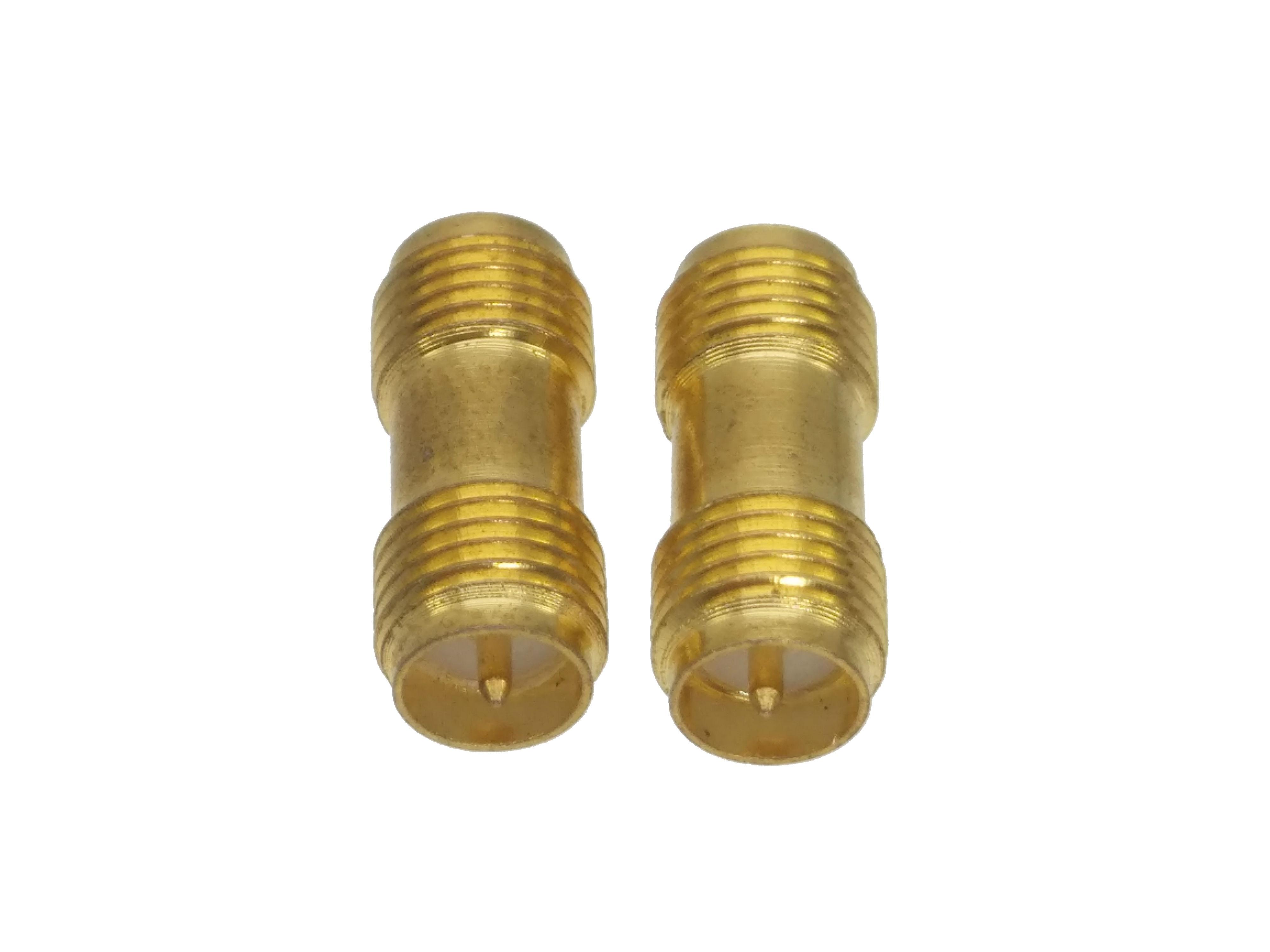 RP-SMA female plug to RP-SMA female Straight RF coaxi adapter connector