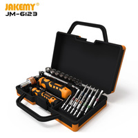 JAKEMY JM 6123 Manufacturer 31 pcs Color Ring hardware hand electric screwdriver set repair tool diy Hand Tool Set|Hand Tool Sets| |  -
