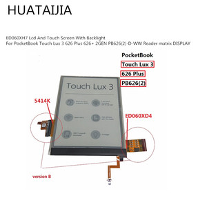 ЖК-дисплей и сенсорный экран с подсветкой для PocketBook Touch Lux 3 626 Plus 626 + 2GEN PB626(2)-D-WW
