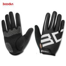 Boodun-Gants de cyclisme pour hommes et femmes, Gel complet, mitaines de moto, vtt, vélo de route, cyclisme
