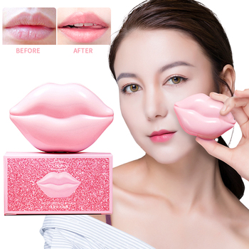 Lips Mask Lip Balm Balsamo Labial Makeup Lip Oil Plump Repair Fine Lines Moisturizer Care Instant Plump Serum Make Up TSLM1 image