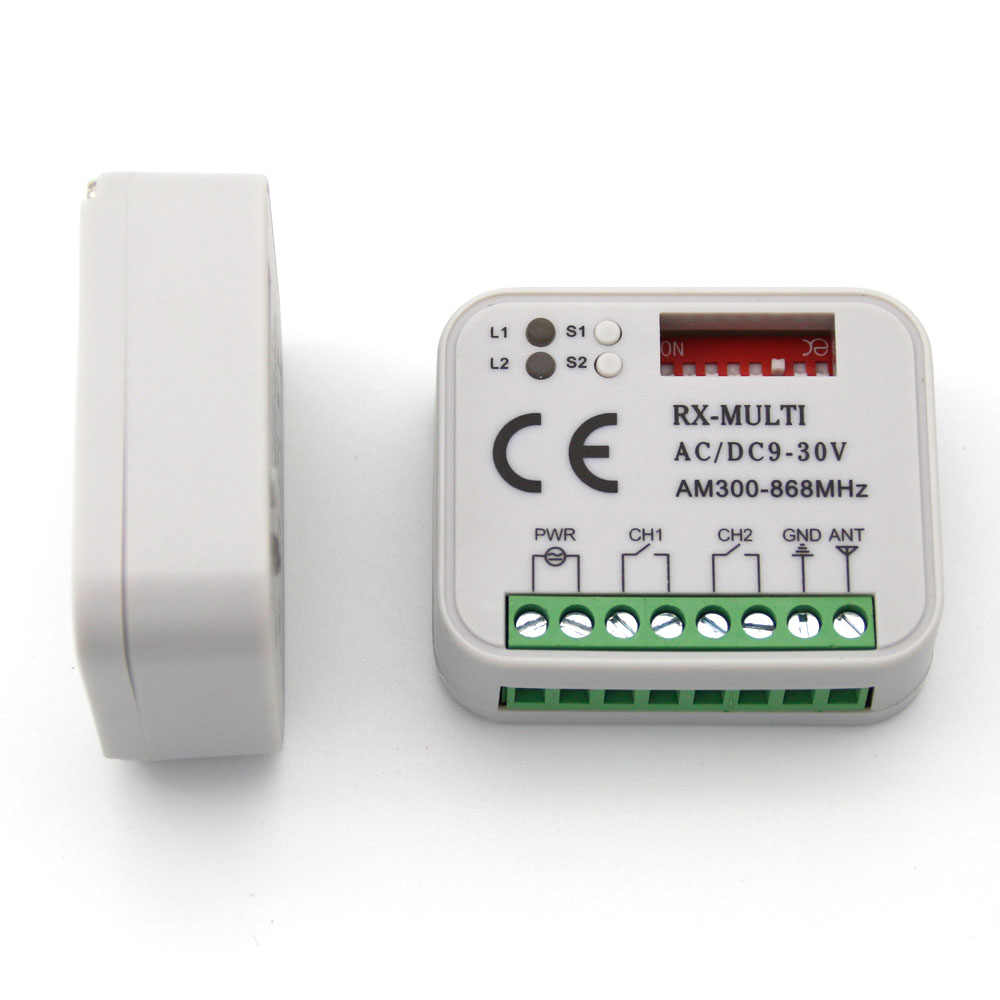 Gate Garagedeur Hand Afstandsbediening voor FAAC XT2 868 SLH 868.35MHZ ontvanger