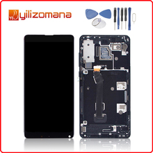 5.99 2160*1080 For XIAOMI Mi Mix 2S LCD Display Touch Screen Digitizer with Frame Xiaomi MIX Mix2S MI