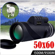 Camping Luneta Telescopio High Power 50X60 HD Monocular Telescope Shimmer Night Vision Outdoor Hiking Dropship Gift #e