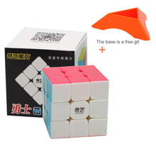 Qiyi Mofangge 3x3x3 Cube Shinning Stickerless 3 By Cubo Magico Puzzle Gift Fidget Spinner Educational Toys For Children