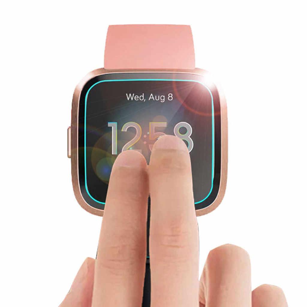 3 Pc in Vetro Temperato Pellicola Della Protezione Dello Schermo per Fitbit Versa Lite Astuto Della Vigilanza 9H Anti-Shatter Pellicola Della Protezione per La Vigilanza Accessorie